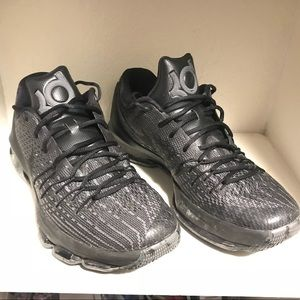 ed87e4bff4db ... france nike shoes nike kd 8 triple black 32b66 081b7